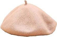 GHCXY Hiver Chaleur Chapeau Béret Femme Couleur