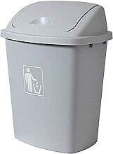 GHFHF Poubelle en plastique de déchets Poubelle