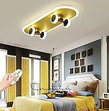 GHY LED Enfants Plafonnier Lampe 32W De Bande