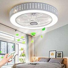 GHY LED Ventilateur De Plafond Plafonnier Dimmable