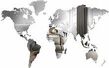 Giallobus - Carte du Monde - DÉCORATION Murale en