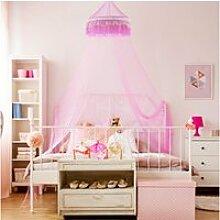 Giantex ciel de lit moustiquaire pour bébé fille