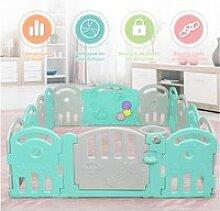 Giantex parc bébé en plastique avec 14 panneaux,