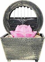 Gidenfly Fontaine de méditation, cascade,