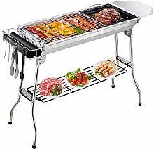 Gifort Barbecue Pliant Portable, Grill Barbecue à