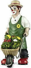 Gildeclown Statuette de jardin