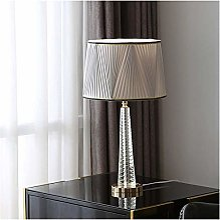 GIOAMH Lampe de table moderne tourbillon cannelé