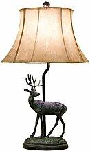 GIOAMH Lampe de table rétro créative romantique