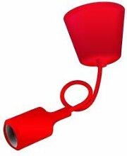 Girard et Sudron Suspension silicone rouge Girard