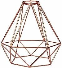 Girard Sudron Abat-jour Cage métal H.21cm- Cuivre
