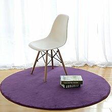 GJ Tapis rond moderne table à café simple
