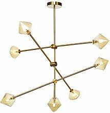 GJBHD Moderne Créatif Lampe Suspension, 7 Tête