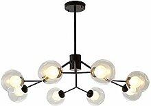 GJSN Lustre Sputnik Moderne, Lustre, Porte-Lampe