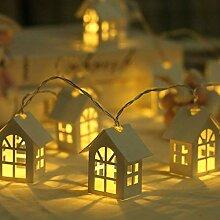 GK Guirlande Lumineuse De Petite Maison De Lampe