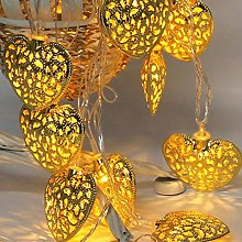 GK Guirlande Lumineuse LED en Forme De Coeur