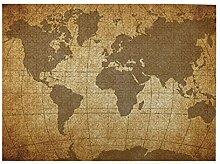 GKGYGZL Puzzles 500 pièces,Carte du Monde,Grande