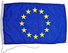 Glac Store® Drapeau Union Europe 40 x 60 cm en