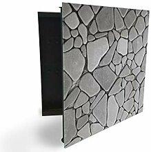 GlassArtist 13653884 Boîte à clés avec façade