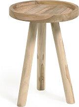 Glenda - Table d'appoint ronde en teck ø35cm