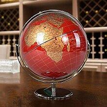 Globe de Carte du Monde, Table de Globe de