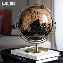 Globe de carte rétro pour la décoration de la