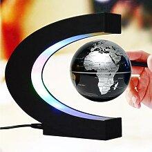 Globe de lévitation magnétique flottant LED,