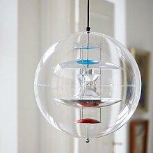 Globe de verre suspendu au Design nordique, lampe