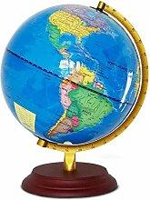 Globe du Monde Illuminé 25Cm Carte du Monde