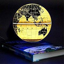 Globe en Lévitation De 8 Pouces, Carte du Monde