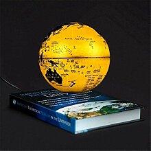 Globe Flottant avec Base De Livre Lévitation