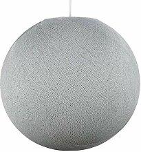 Globe gris perle