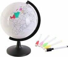 Globe terrestre à personnaliser