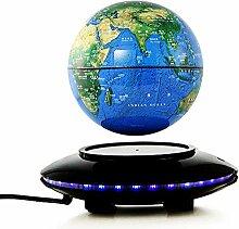 Globe terrestre Globe flottant de 6 pouces avec