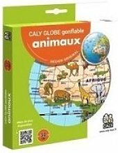 Globe terrestre gonflable animaux 30cm B92010