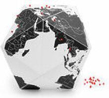 Globe terrestre Here by countries Medium / Ø 30