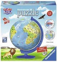 Globe terrestre puzzle 3d mappemmonde 180 pcs