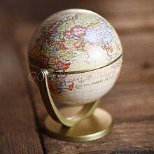 Globe Vintage édition anglaise, décoration de