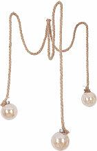 Globo - Décoration LED suspension lampe corde de
