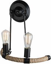 Globo - Design lampe murale noir salon éclairage