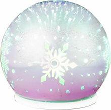 Globo - Lampe de table LED boule de verre avec