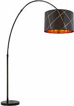 Globo - Lampe sur pied luminaire en métal marbre