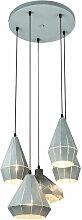 Globo - Pendule plafonnier lampe salon salle à