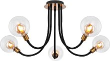 Globo - Plafonnier LED Métal Lumière Or Bras
