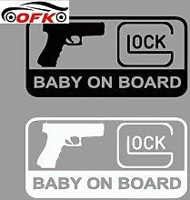 GLOCK bébé à bord accessoires décoratifs