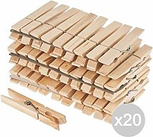 Glooke Selected Set 20Ressorts Pince Bois x