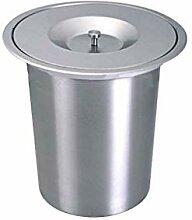 GLP Poubelle de cuisine intégrée en acier