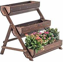 GLVV fleur étagère balcon ménage pot de fleurs