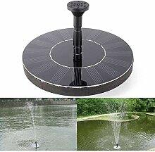 Gmasuber Fontaine solaire Pompe de fontaine à