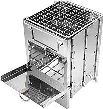 Gmasuber Gril de barbecue en acier inoxydable -