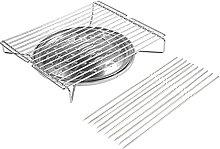 Gmasuber Grille de cuisson portable + 10 panneaux